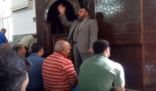 """فلسطين: كلمة مسجد """"سلامة الدين واجبة التقديم، والعجز مقدم على الفجور!"""""""
