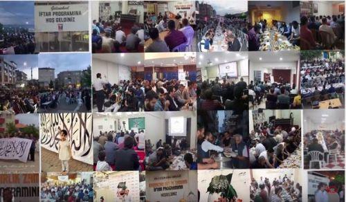ولاية تركيا: مقتطفات من فعاليات شهر رمضان المبارك 1438هـ - 2017م