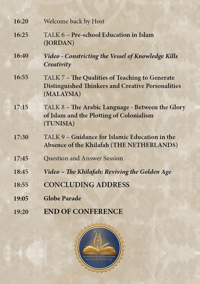 WS Khilafah Conf Program Flyer EN Page 3