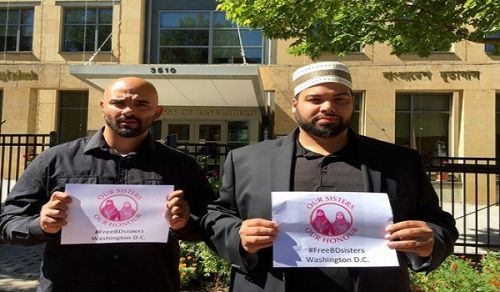 Delegation from Hizb ut Tahrir delivered an Open Letter from Hizb ut Tahrir America to the Tyrant Government of Bangladesh at the Embassy of Bangladesh in Washington DC