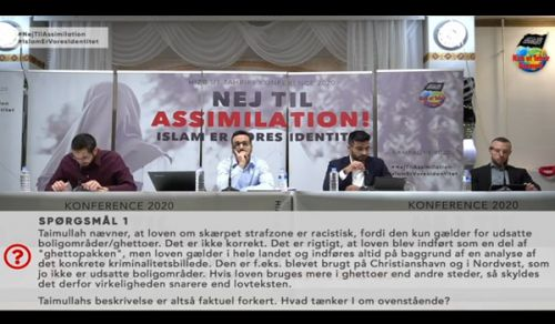 Denmark: The Annual Conference  No to Assimilation! Islam is our Identity!