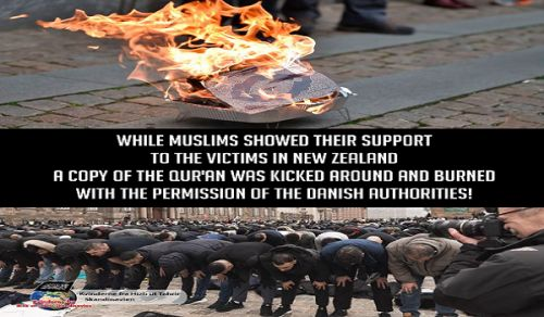 Hizb ut Tahrir / Scandinavia Successfully Completed the Friday Prayer and Protest Event in front of the Danish Parliament