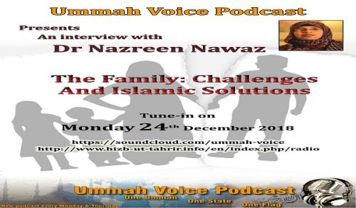 Interview with Dr Nazreen Nawaz: The Family: Challenges and Islamic Solutions Part 1