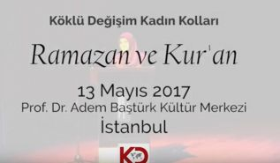 "Wilayah Turkey: Women's Section, Events ""Ramadan & Quran!"""
