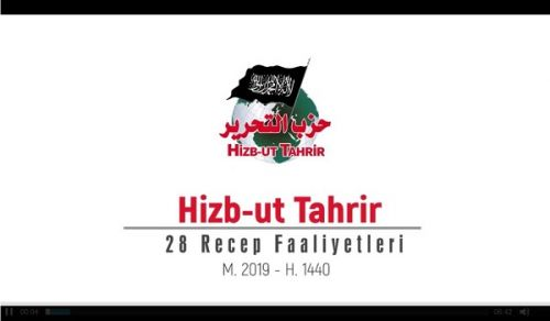Wilayah Turkey: Global Activities of Hizb ut Tahrir on the anniversary of the Destruction of the Khilafah - Rajab 1440 AH