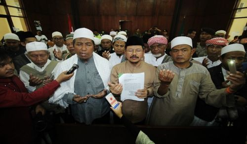 Hizb ut Tahrir Indonesia to file suit documents to lift the ban imposed on Hizb ut Tahrir at the Administrative Court (PTUN) in East Jakarta