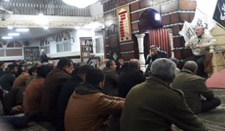 "Palestine:  Massive Lecture in Athena ""The Khilafah will Inevitably Exist"""
