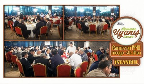 Wilayah Turkey Organized its Annual Ramadan Iftar 1440 AH in Istanbul under the Motto: Ramadan is the Time of Awakening