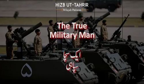 Wilayah Pakistan: The True Military Man!