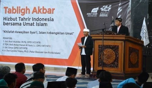 "Hizb ut Tahrir Indonesia:  Extensive events in commemoration of Rajab: ""The Destruction of the Khilafah"""