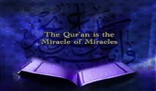 Ameer's Answer to Question: Scientific Miracles in the Noble Quran
