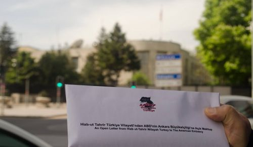 An Open Letter from Hizb ut Tahrir Wilayah Turkey to the British and American Embassies ''Immediately Leave Our Soils that You have Terrorised through Nourishing Yourselves with Blood, Chaos and Massacres!""