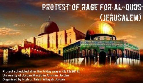Wilayah Jordan: Protest of Rage for Al-Quds