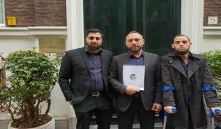 Europe: The Netherlands, Delegation to Pakistani Embassy in Support of Two Sisters who were Kidnapped