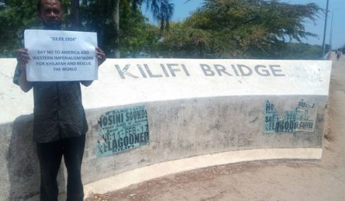 Kenya: Campaign In remembrance of the Khilafah Destruction