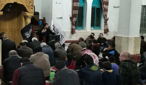 Palestine: Massive Lecture in Hebron Rawda Masjid The Khilafah is a Victory from Allah and Imminent Conquest