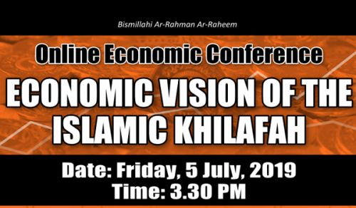 From the Online Economic Conference, Hizb ut Tahrir/ Wilayah Bangladesh Address to the Nation