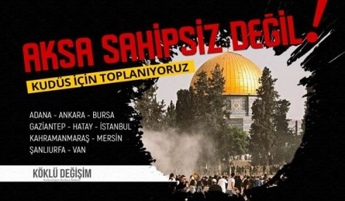 Wilayah Turkey ٍ Stands to Denounce the Aggression of the Jewish entity against the Blessed Al-Aqsa Mosque