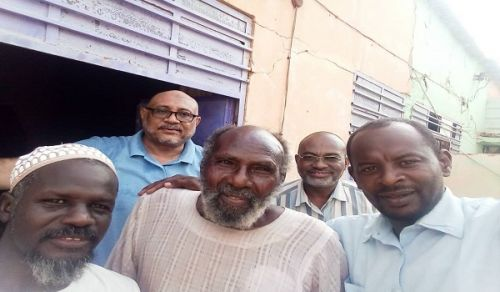 Wilayah Sudan: Delegates from Hizb ut Tahrir/ Wilayah Sudan Visit Uncle Sadiq (May Allah have Mercy) from the First Generation