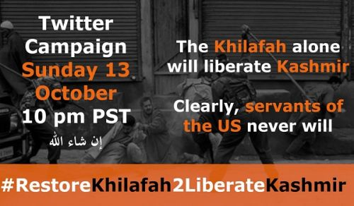 Wilayah Pakistan: The Khilafah alone will Liberate Kashmir