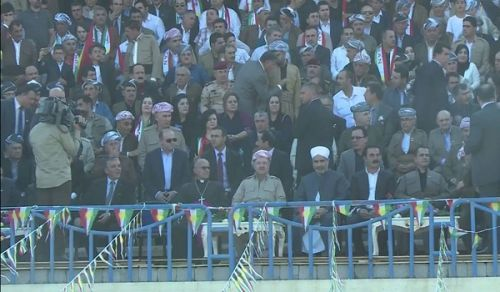 Barzani Carries out the Enemies' Schemes under the Shade of his Parliament