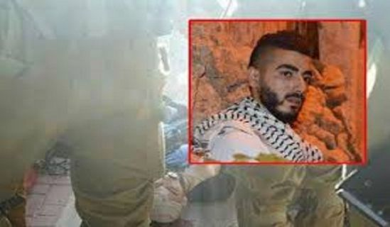 Palestine: Hizb ut Tahrir at the Funeral of the Martyr Fadhl Qawasmi in Hebron Jabari at the Qawasmi Funeral: Liberation equation in Military Force with Jihad