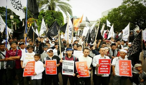 Indonesia Protest:Widespread activities in support of Al-Quds (Jerusalem) and Al-Aqsa Mosque