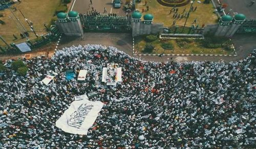 Indonesia Protest: PERPPU NOT ONLY ATTACKS ISLAMIC MASS ORGANIZATIONS BUT ALSO THE ISLAMIC TEACHING