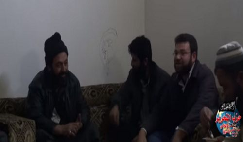 Wilayah Syria: Meeting with Notables in the town of Bara, province of Idlib