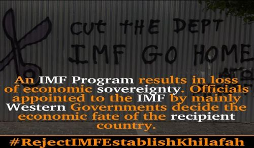 Wilayah Pakistan: Campaign to call on Muslims to reject the International Monetary Fund