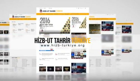 Wilayah Turkey: Advertisement of the official website of Hizb ut Tahrir in Wilayah Turkey