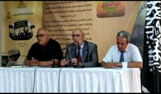 "Wilayah Tunisia: Press Seminar  ""We have exposed the power of the colonial powers to the power of the military!"""