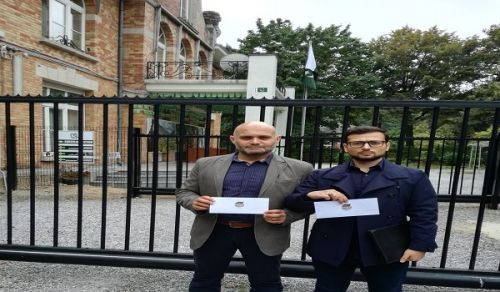 Belgium  Delegation to the Embassy of Pakistan Support for kidnapped sisters
