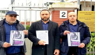 The Netherlands: A delegation from Hizb ut Tahrir for the support of the captive Jannat Bespalova went to the Russian Embassy