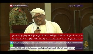 Wilayah Sudan:  Speech of Sheikh Nasser Ridha in front of the Military Council (English subtitles)