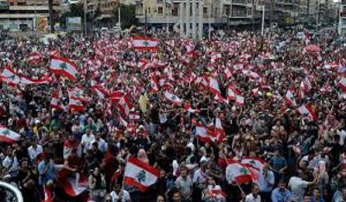 Lebanon on the Ninth Day of its Uprising...
