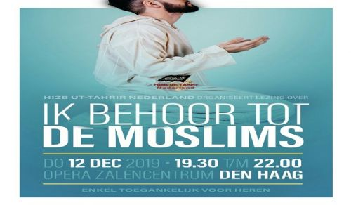 The Netherlands: Political Seminar entitled I am one of the Muslims