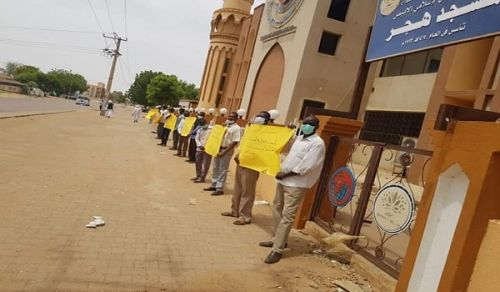 Wilayah Sudan: Series of Silent Protests to Refuse the Closure of Mosques
