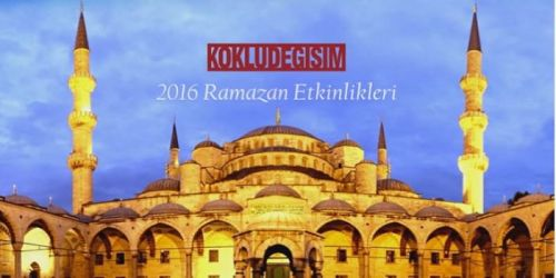 Wilayah Turkey: Iftar events across Turkey