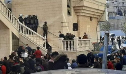The Palestinian Authority Mobilised its Shabiha, Thugs, to Arrest and Suppress Worshipers, Close Down Masajid and Prevent Friday Prayers in a Blatant War Against the Houses of Allah, His Supporters and His Rituals