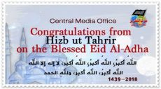 Congratulations from Hizb ut Tahrir on the Blessed Eid Al-Adha