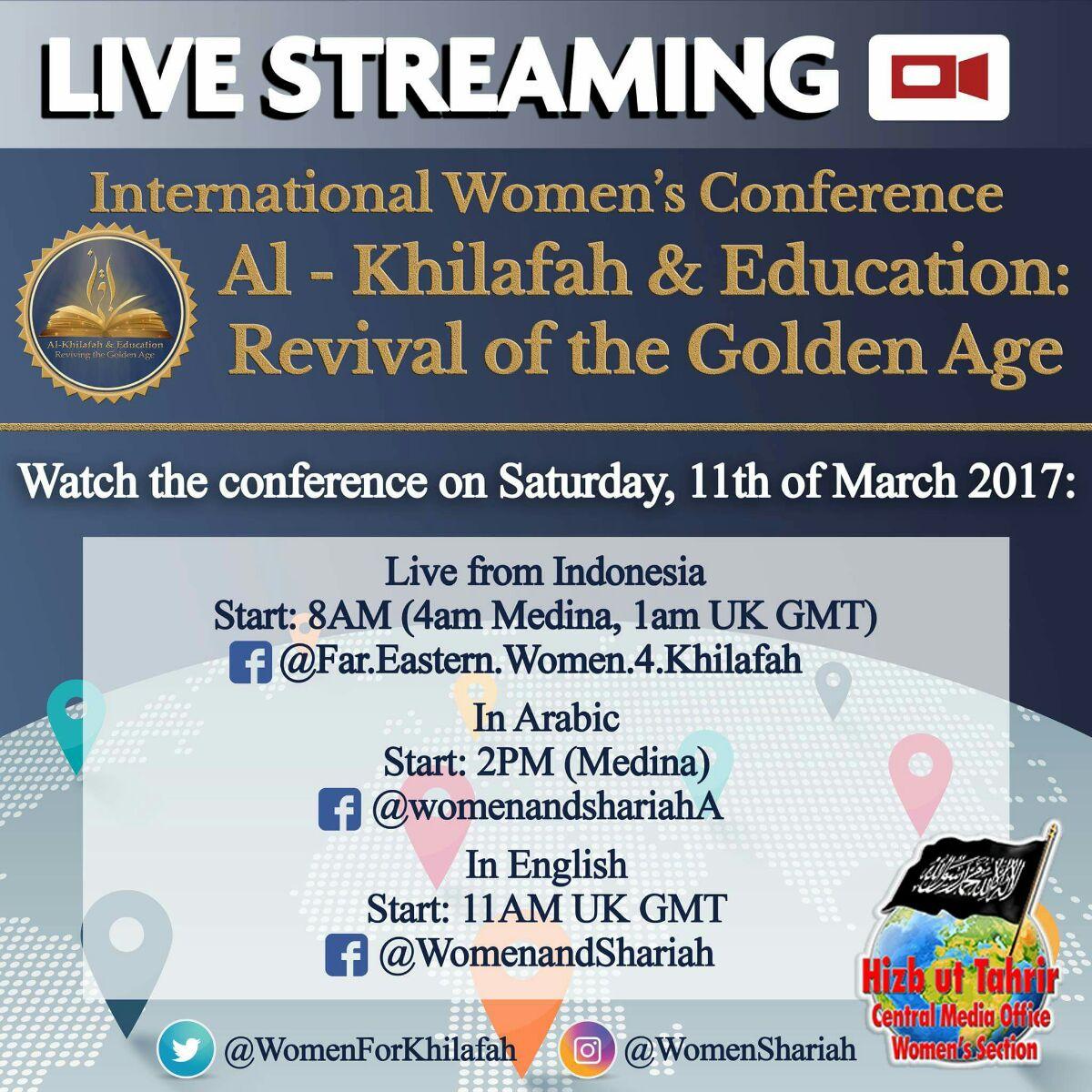 WS Khilafah Conf Live Broadcast EN