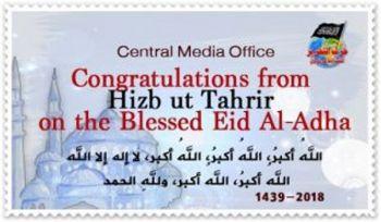 Gratulation von Hizb ut-Tahrir zum Opferfest