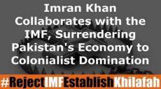 عمران خان له  IMFڅخه په مرستې اخیستنې، د پاکستان اقتصاد استعمار ته په لاس ورکوي