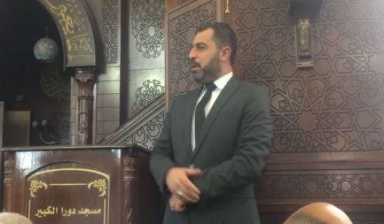 """سرمین مبارک: پیامی از مسجد """"خلافت پیروزی از جانب الله و گشایش نزدیک"""""""
