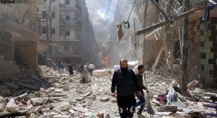 از کشتار بی گناه مردم یمن توسط امریکا تا کمک و نظاره گری گروه ها!