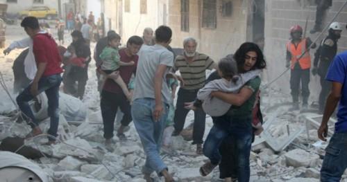 Uluslararası Konferanslar ve Barış Girişimleri Rus Bombardımanını Dizginleyemiyor