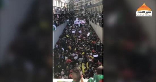 Ümmetin Minberi: Cezayir'de Protestocular İslam Devletinin Kurulmasını İstedi!