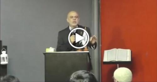 Avustralya: İsmail El Vahvah'ın Kadir Gecesinde yaptığı konuşma