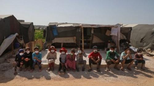 Korona Virüsü ve Savaş Nedeniyle Suriye'de Yaşanan Açlık Krizi, Kadınları ve Çocukları Etkiledi